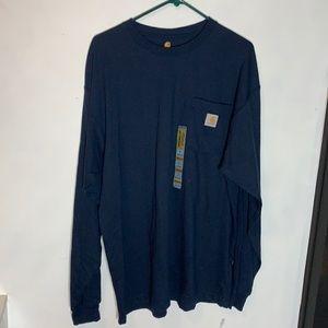 Carhartt long sleeve tshirt, size large